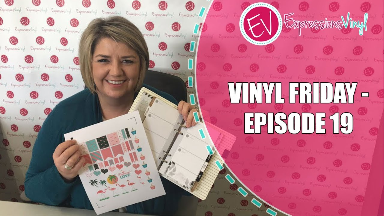 graphic about Best Printable Vinyl known as Vinyl Friday! Inkjet Printable Vinyl