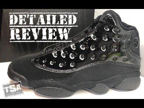 1be99d9b32f Air Jordan 13 Cap & Gown Retro 2019 Sneaker Detailed Honest Review  #Sneakerhead