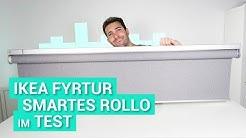 IKEA Fyrtur Rollo im Test - Endlich ist es da!
