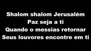 Shalom Jerusalém - Play Back Com Letra