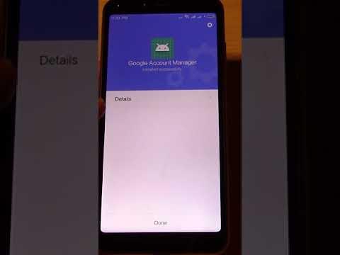 Google Contacts Not Syncing Fix - Xiaomi Redmi 6 MIUI - Part 3 - Install  Google Play