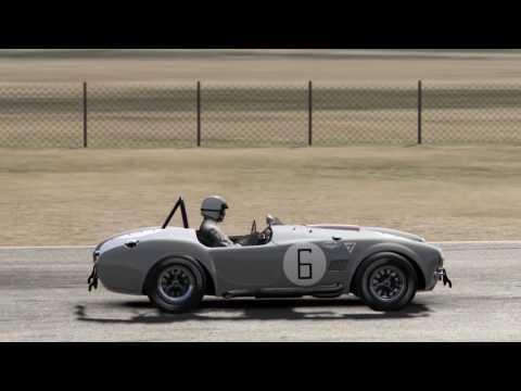 AC Cobra Competition Mod Quick Race @ RIverside Raceway Short