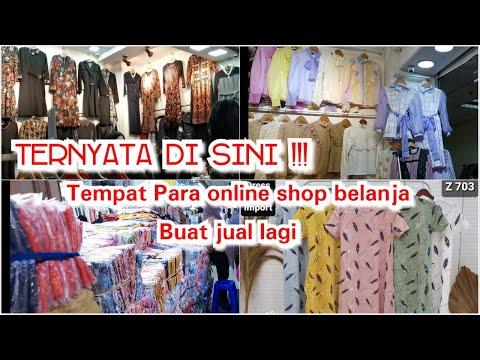 Rekomendasi tempat belanja buat para penjual online shop pakaian import