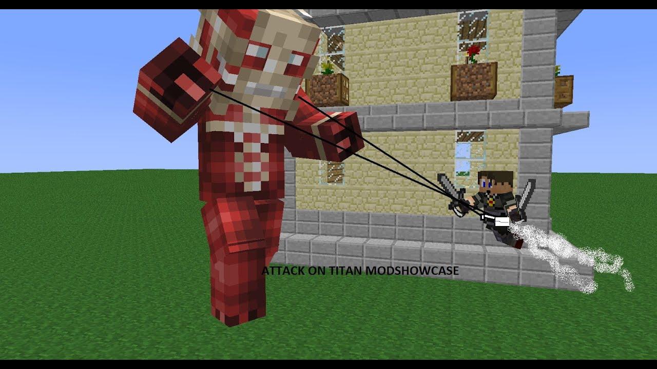 скачать мод атака титанов на игру майнкрафт 1 5 2 #11