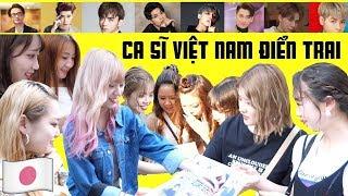 Người Nhật sẽ chọn ai là Ca sĩ Việt Nam điển trai nhất?? Sơn Tùng?Noo Phước Thịnh?...