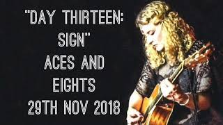 """Heather Findlay Trio """"Day Thirteen: Sign"""" Aces and Eights, 29th November 2018"""