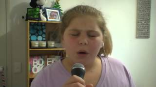 Me singing Jealous of the Angels by Jenn Bostic (cover)