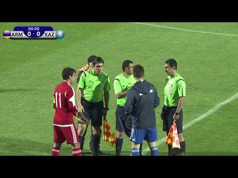Armenia U19 VS Kasakhstan U19 Friendly 28.10.2017