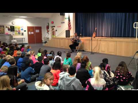 Fred Benedetti on Guitar at Bonsall Elementary School