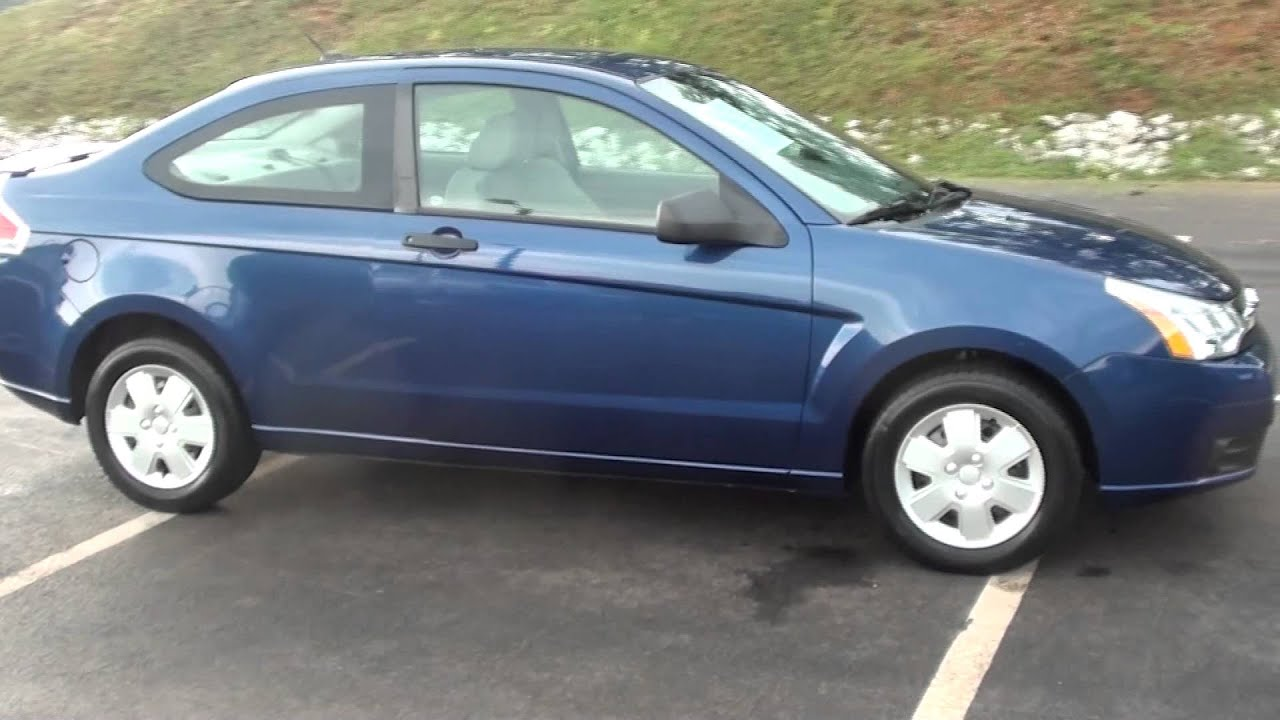 For Sale 2008 Ford Focus 2 Door 5 Speed Gas Saver Stk