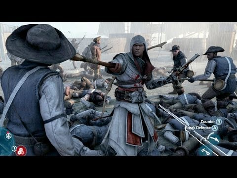 Assassin's Creed 3 Brutal Battle 2075 Kills Longest Fight In AC3 History