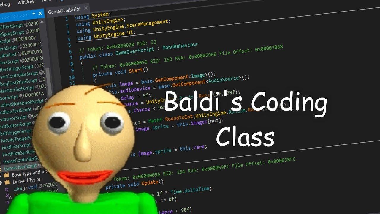 How to mod Baldi's Basics!