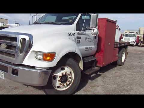 2006 Ford F-750 Flatbed Truck on BigIron Auctions