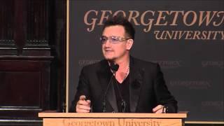 U2's Bono Speaks at GU Global Social Enterprise Event thumbnail