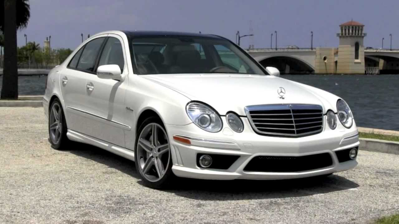 Worksheet. 2007 MercedesBenz E63 AMG Arctic White Gulfstream Motorcars  YouTube