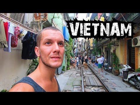 FIRST IMPRESSIONS OF VIETNAM - HANOI