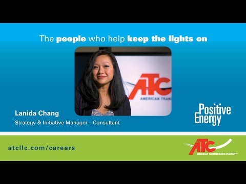 The people who help keep the lights on: Lanida Chang, Consultant Strategy and Initiative Manager