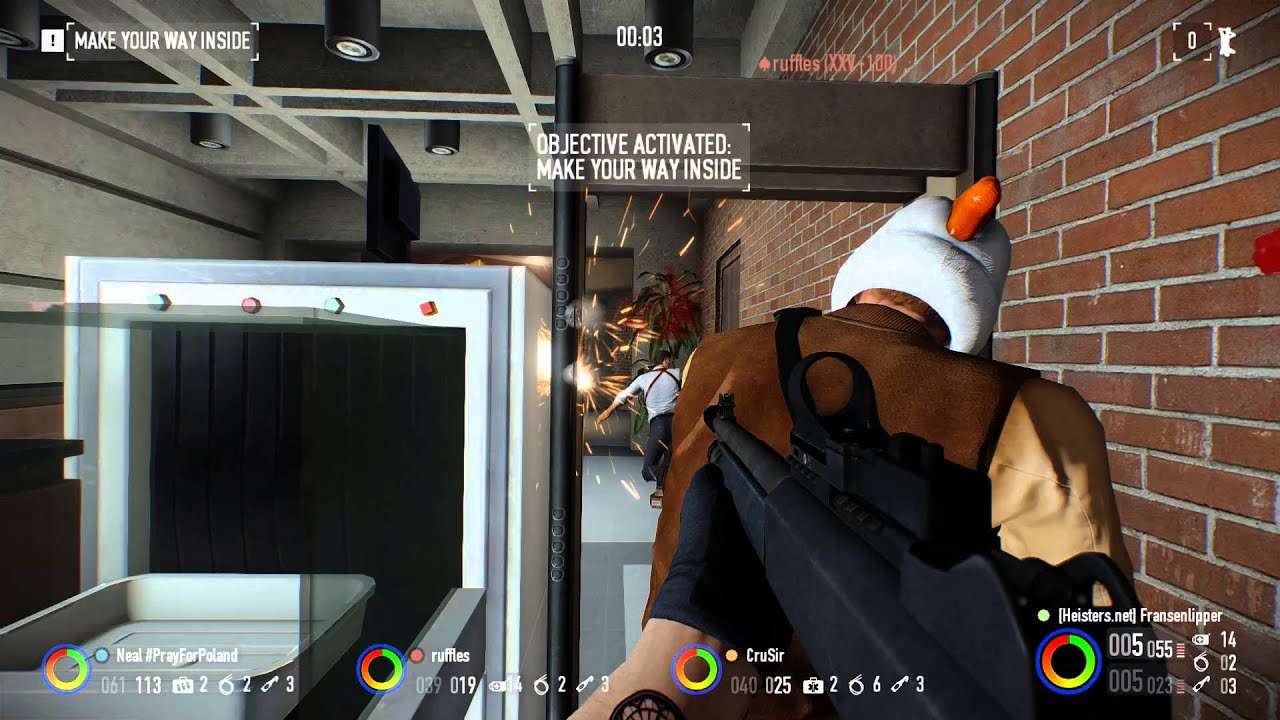 Payday 2 Hoxton Breakout Death Wish M1014 Judge Rogue Suit