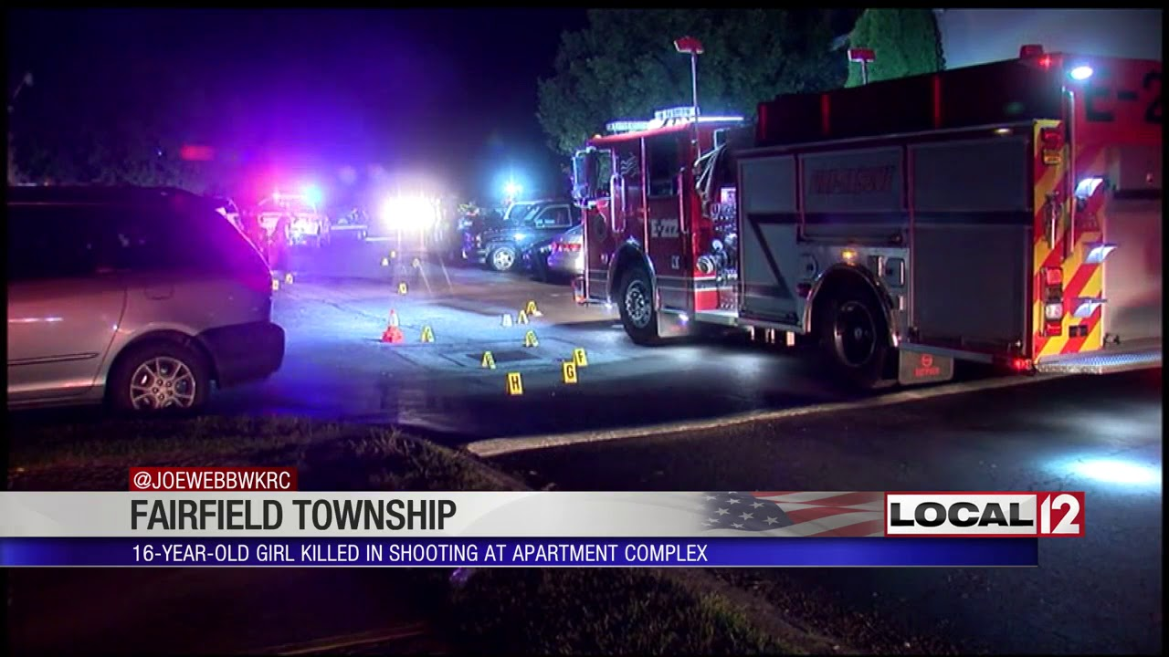 Girl shot in Fairfield Twp  double shooting has died