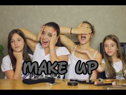 They put make up on us