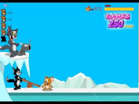 Том и Джерри Ice Ball Game Новые видео должно играть в эту игру
