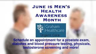Graham Healthcare Urgent Care Men's Health Awareness Month