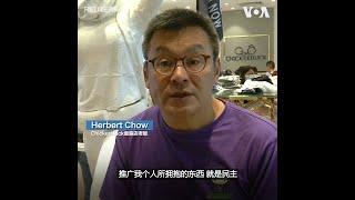 香港童装店竖起民主女神塑像 老板:希望小孩子了解民主价值
