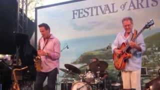 Brian Bromberg on Piccolo Bass, in Laguna, August 20, 2015