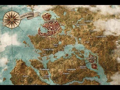 Mapa The Witcher 2.Tamanho Do Mapa The Witcher 3