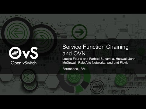 Service Function Chaining and OVN by John McDowall, Palo Alto Networks