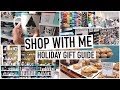 SHOP WITH ME for CHRISTMAS | Holiday Gift Guide