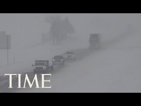 Travel Plans Freeze As Winter Storm Gia Strikes The Midwest | TIME