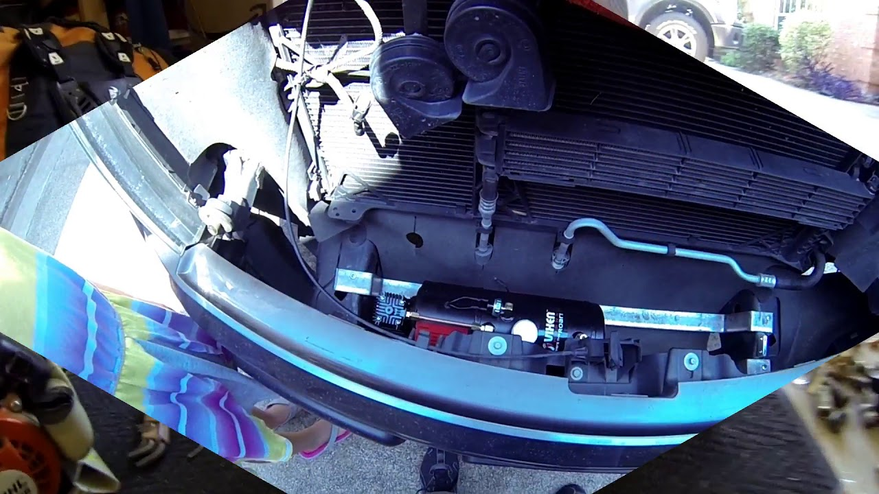 ford f150 air horn installation [ 1280 x 720 Pixel ]