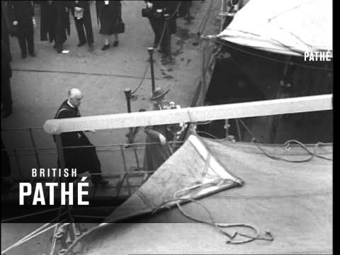 Princess Margaret Names Missionary Ship Roll 3 (1948)