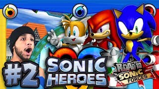 Sonic Heroes PC 4K 60FPS - Part 2 - Grand Metropolis & Power Plant *THE ROAD TO SONIC FORCES*