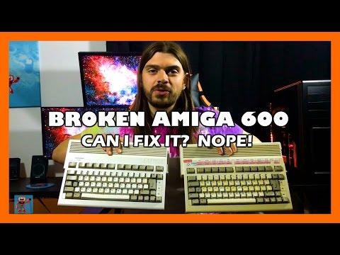 Amiga 600 - Should I Wash a 25 Year Old Computer?