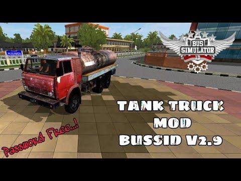 Bussid V2 9|Indian Tanker Truck Mod For Bus Simulator Indonesia|Truck  Tanki(Password Free)Mod |