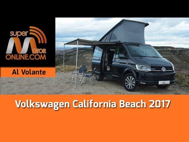 Volkswagen California Beach 2017 / Al volante / Prueba dinámica / Review / Supermotoronline.com