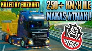 ✂️250 Km/h İle Makas Atmak !✂️   Euro Truck Simula