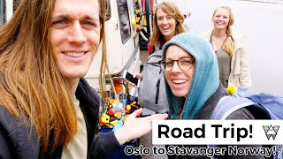 Norway road trip with the girls! (Oslo to Stavanger)