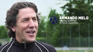 Entraînement de soccer dans le cadre de la reprise des activités (9 juin 2020)