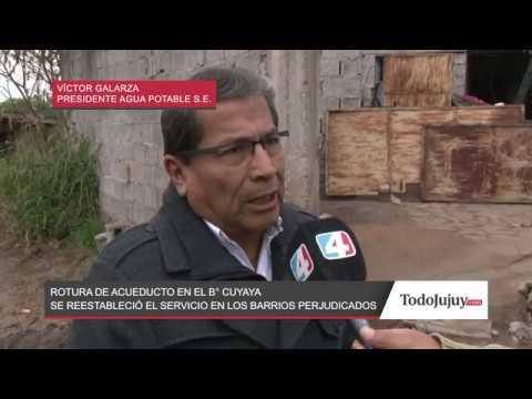 Repararon el acueducto y vuelve el agua a los barrios de San Salvador de Jujuy