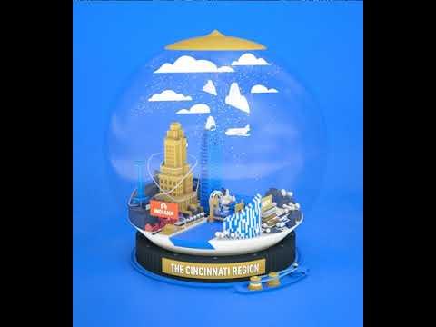 Cincinnati Region Globe