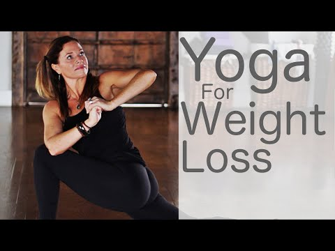 37 Minute Yoga for Weight Loss With Fightmaster Yoga