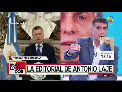 Fuerte crítica de Antonio Laje al discurso presidencial