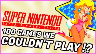 Top 100 SNES Games You Couldn't Play! - Great Japanese Super Famicom Exclusives