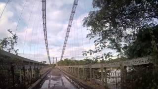 Puente Eiffel El Dorado Estado Bolivar, Venezuela Gorpro hero 4 Silver 720p