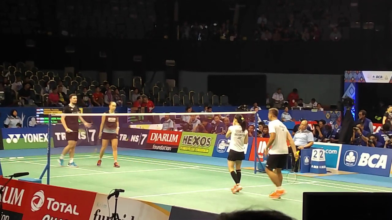 BCA Indonesia Open 2017 Praveen JORDAN Debby SUSANTO vs Mathias