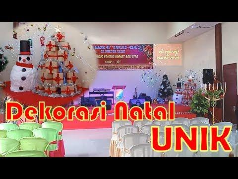 Dekorasi Natal Di Gereja Sederhana Tapi Unik By Timon Adiyoso