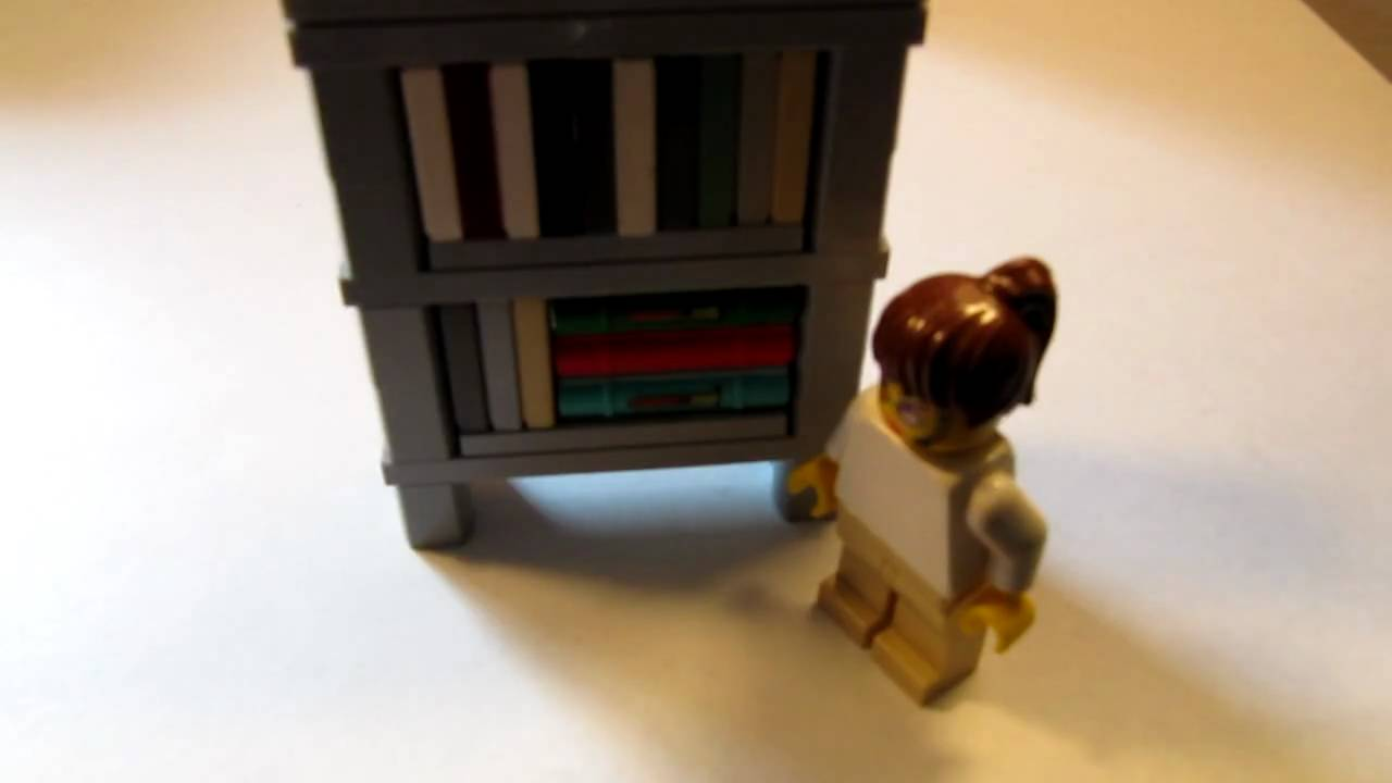 build to lego watch bookshelves how bookshelf youtube